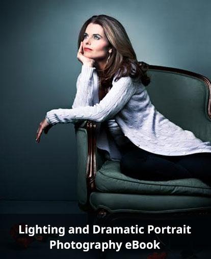 dramatic portrait photography