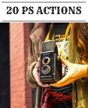 photoshop photo actions