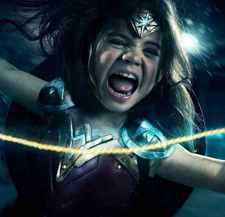 Josh rossi wonder woman - Expert photoshop compositing tutorial