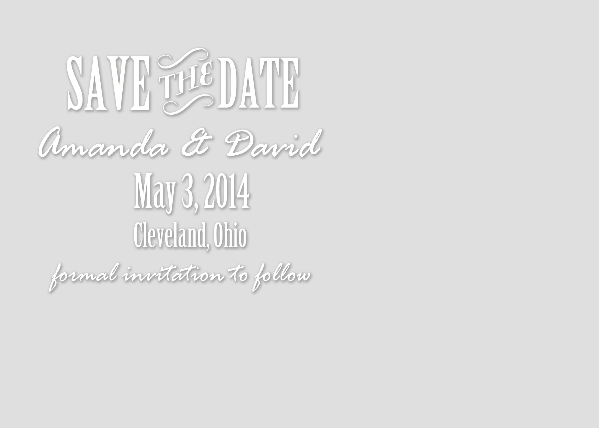 5 Save The Date Card Editable Templates for Free -