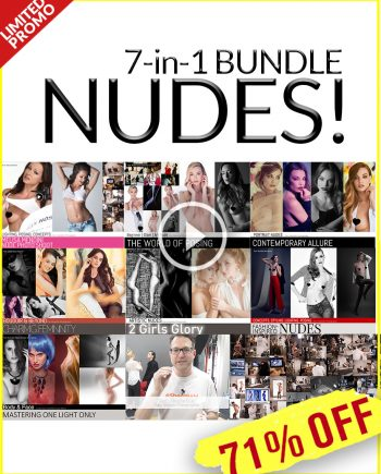 nude model photography banner