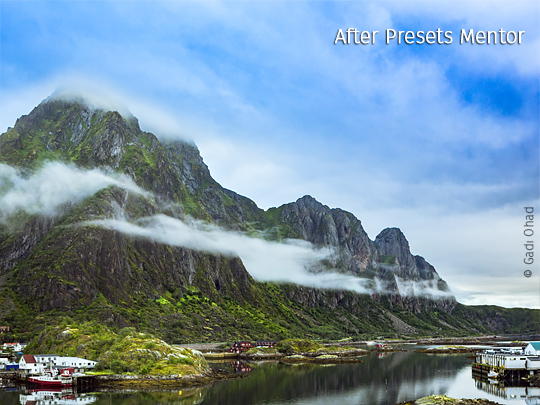 Lightroom presets package LANDSCAPE SLIDER After 2