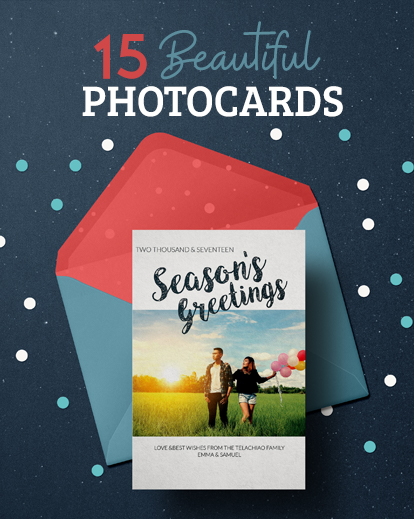 Free Christmas Card Templates.15 Free Christmas Photo Cards