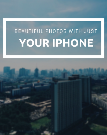 iPhone travel photography tips