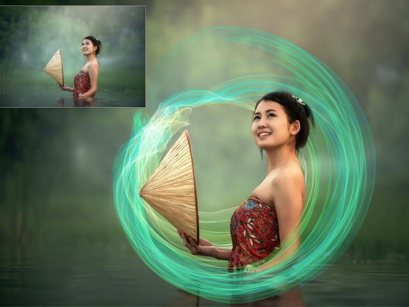 photoshop overlay effects