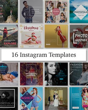editable Instagram templates
