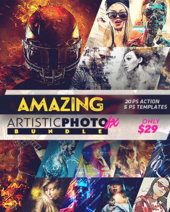 new photoshop actions fb banner