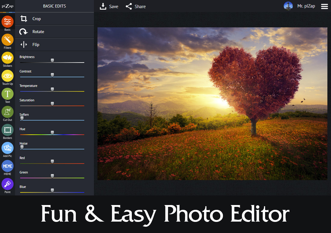 online photo editing tool