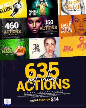 photoshop actions effects