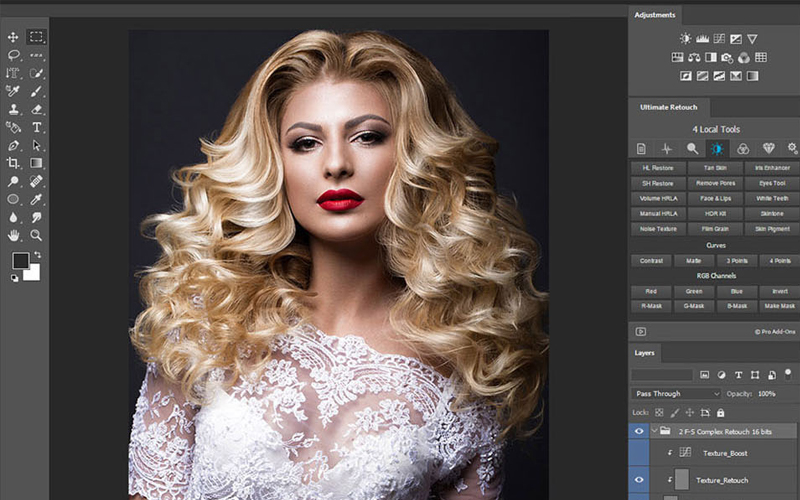 ultimate panel retouch