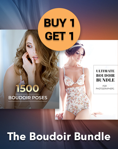 $29 (reg $430) BOGO Offer – 1500 Boudoir Poses + The Ultimate Boudoir Bundle