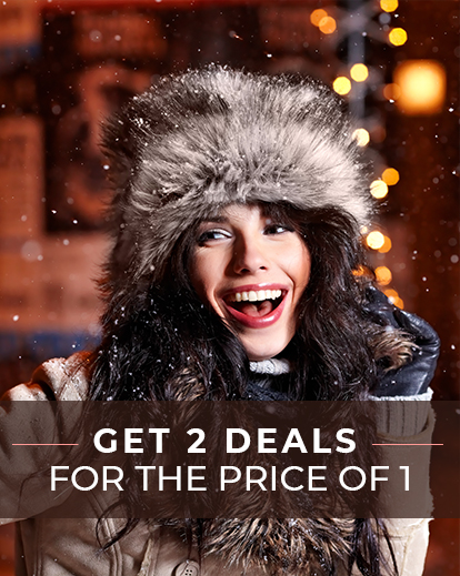 Add Some Sparkle to Your Winter With This 2-for-1 Deal