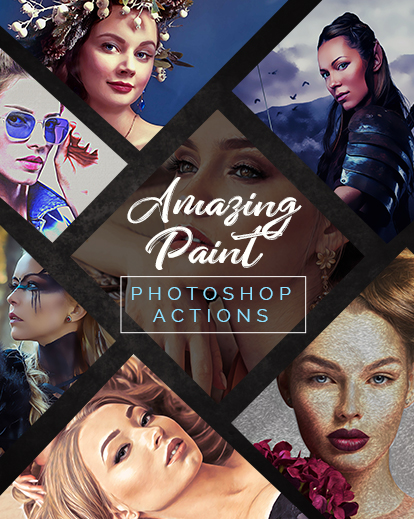 amazing paint collage banner