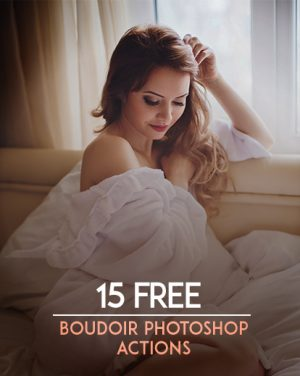 boudoir photoshop actions featured