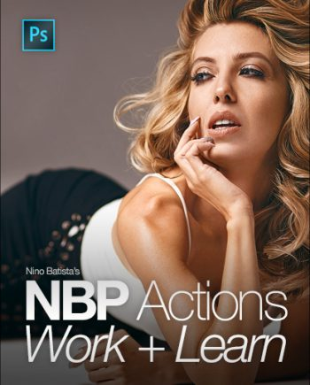 photoshop retouching actions banner