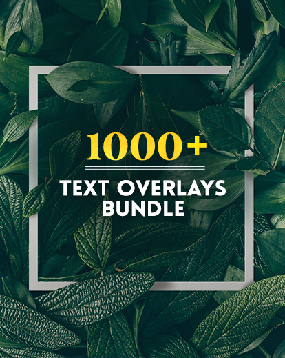Photoshop Overlays pack featured