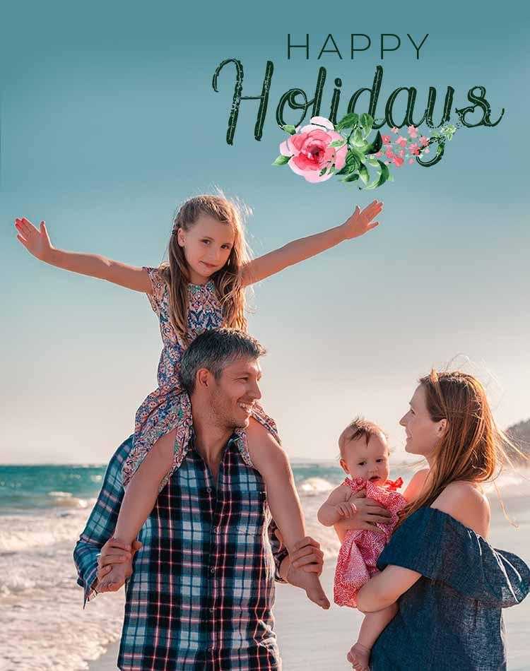 photoshop overlays pack holidays