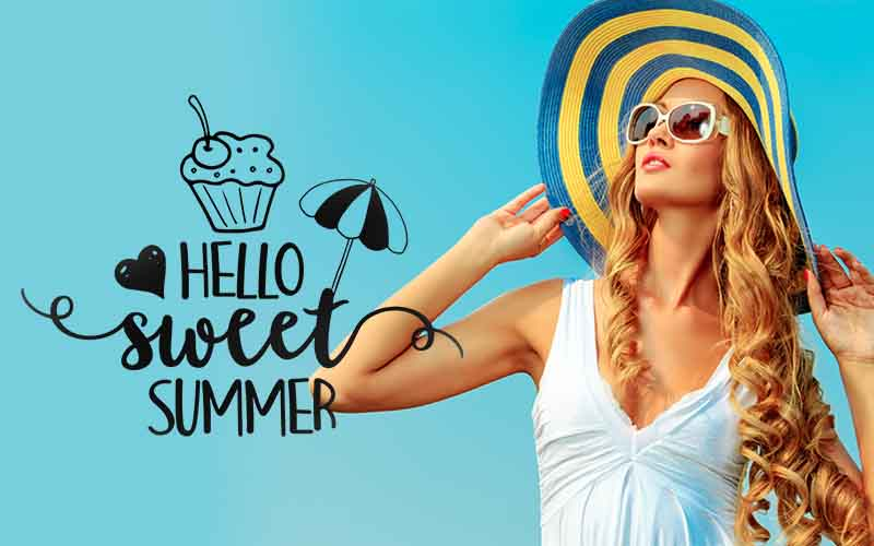 photoshop overlays pack summer