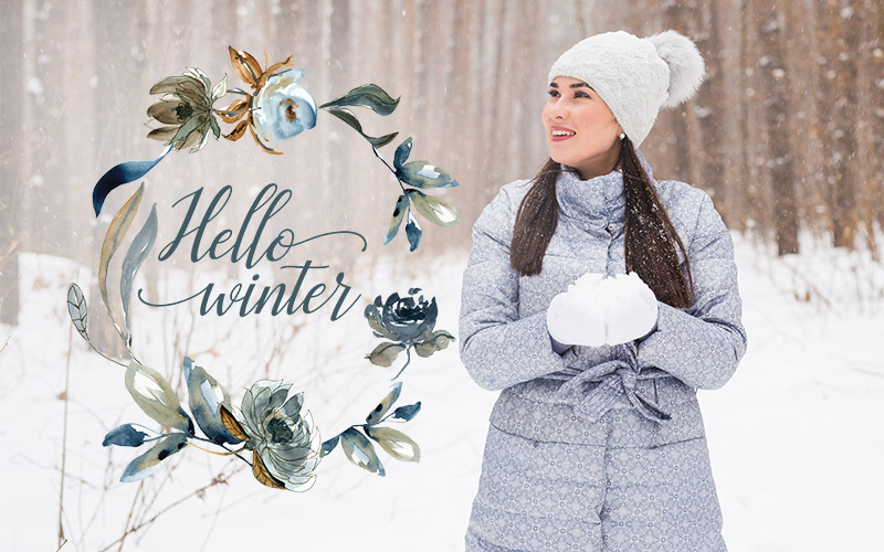 photoshop overlays pack winter