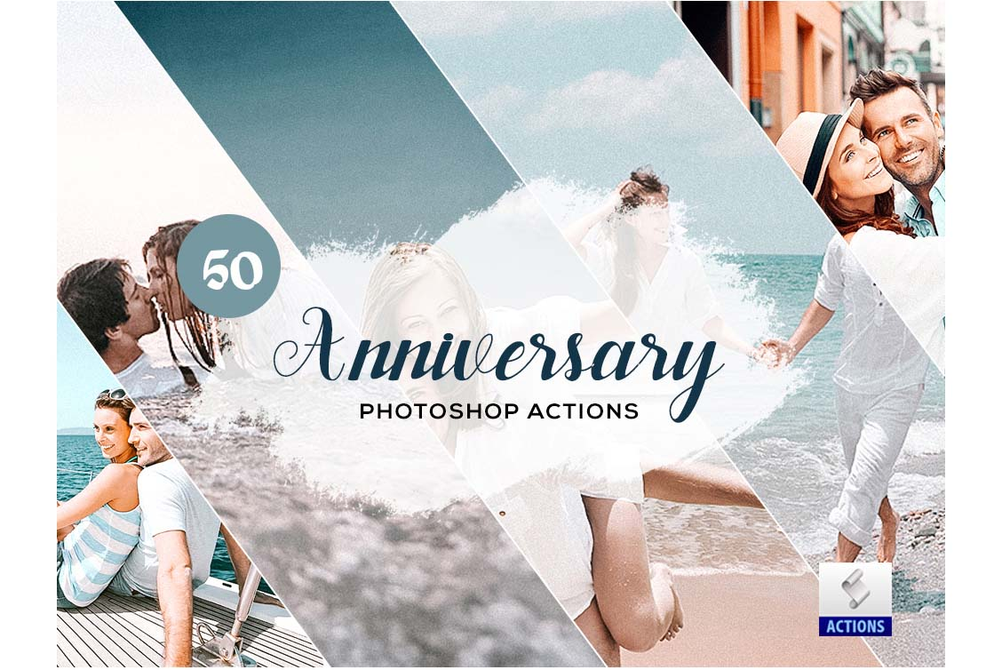 fashion photoshop actions anniversary