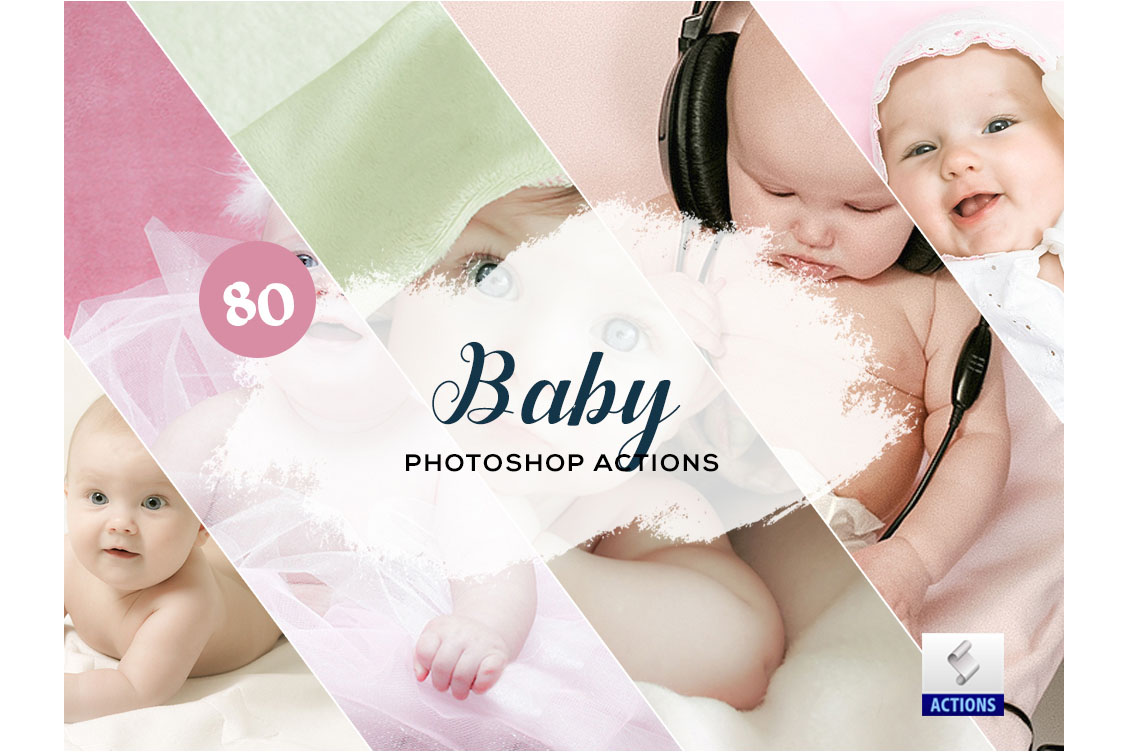fashion photoshop actions baby