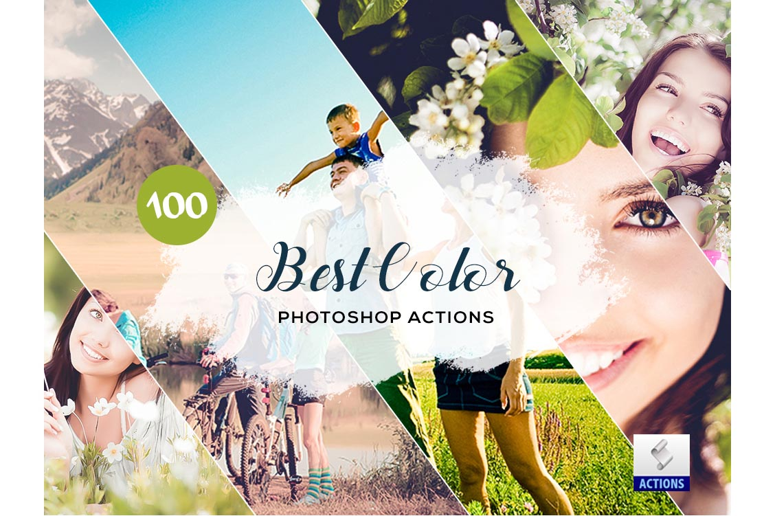 fashion photoshop actions best color