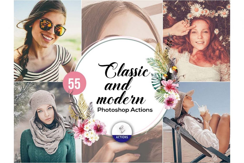 fashion photoshop actions classic and modern