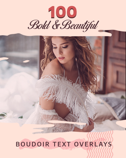 boudoir quotes banner