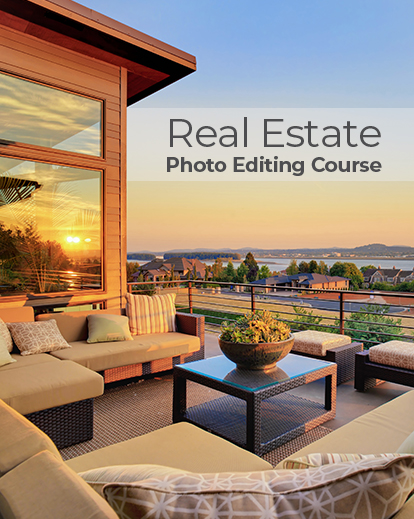 Professional Real Estate Photo Editing Course