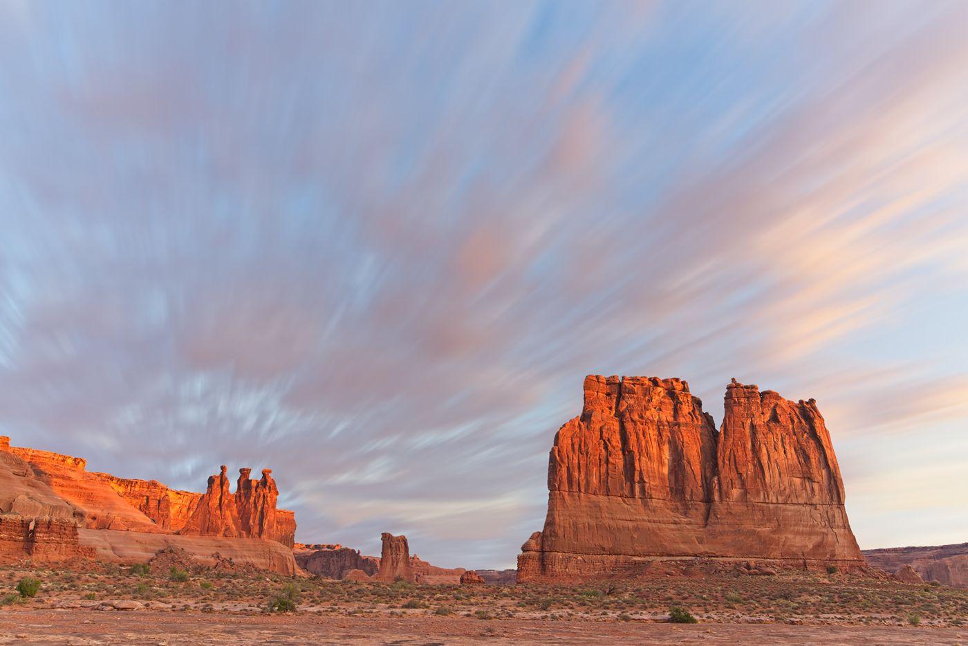 ON1 Photo Raw moab sunrise after