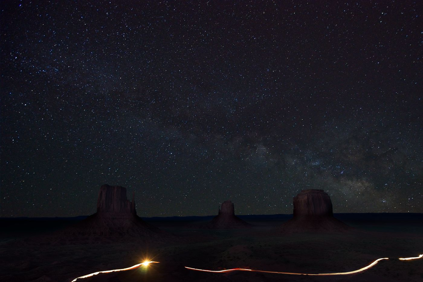 ON1 Photo Raw monument valley after