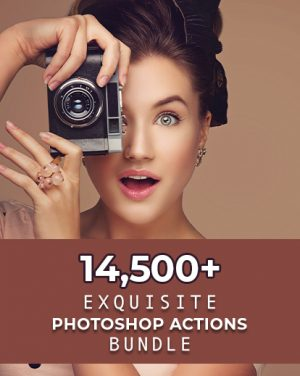 fashion photoshop action feature