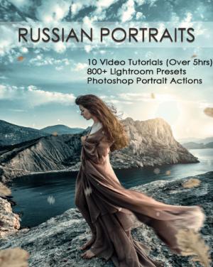 russian portrait editing banner