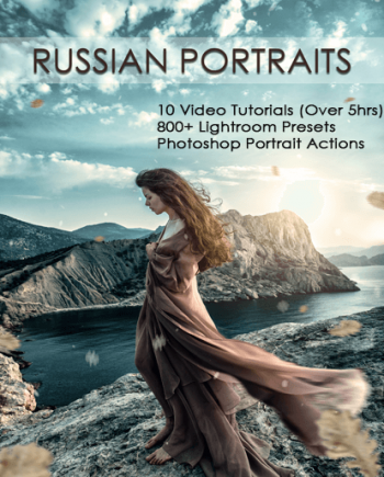 russian portrait editing banner