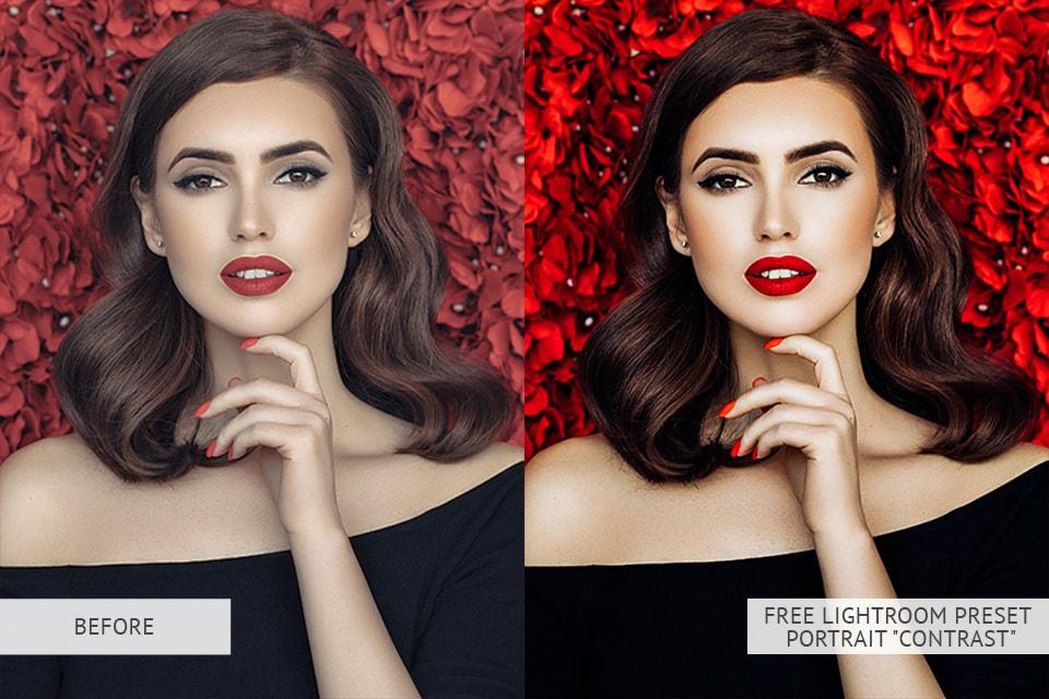 Contrast Portrait Presets B & A