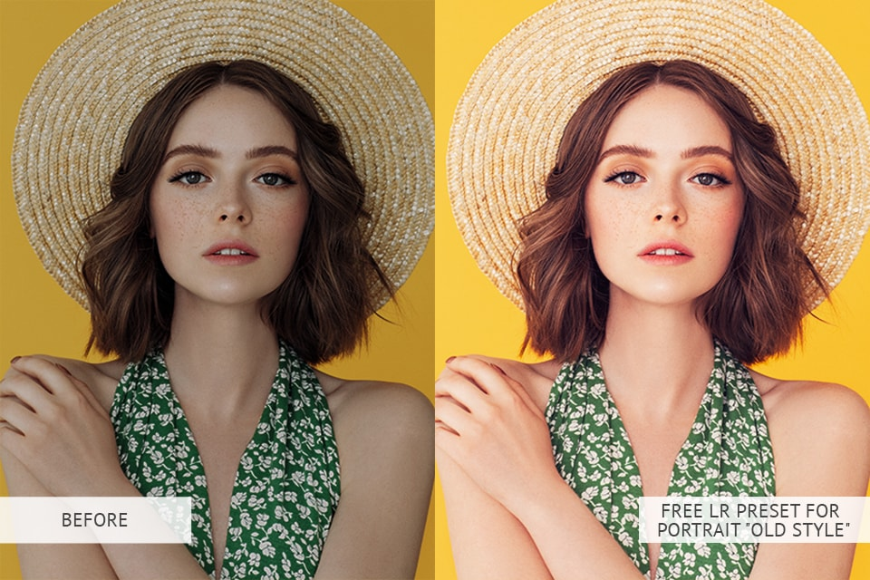 Old Style Portrait Presets : B & A