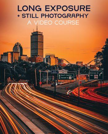 long exposure + still photograhy: A Video Course