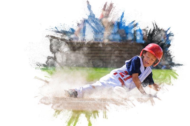 photoshop sketch brush baseball 1