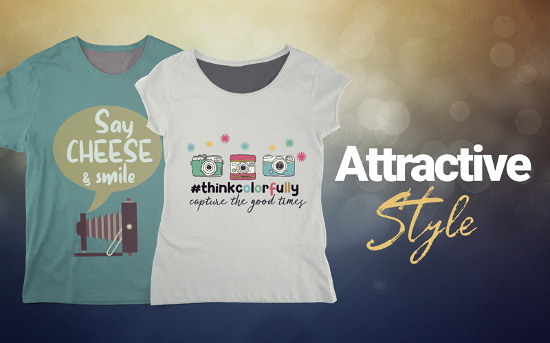 photography t-shirts attractive style
