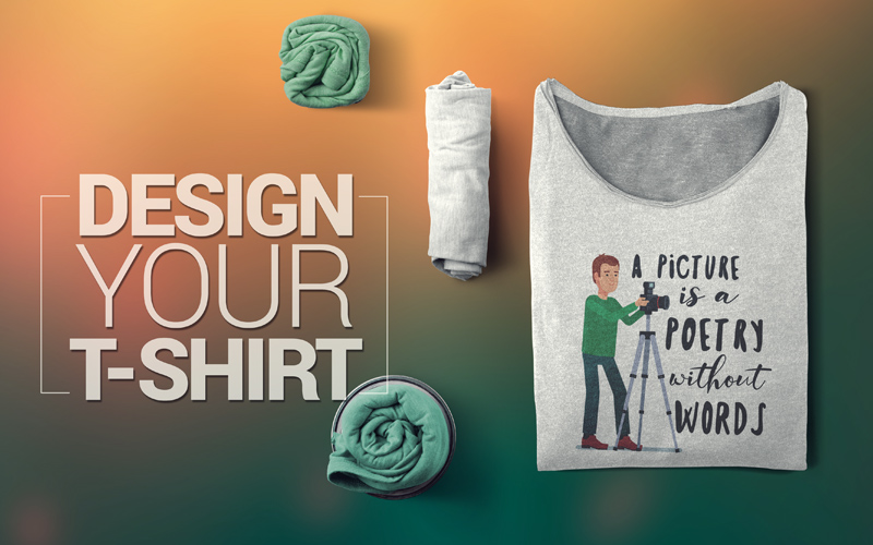 photography t-shirts design your tshirts