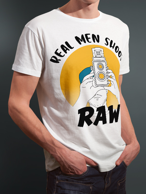 photography t-shirts real men