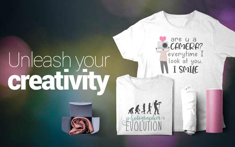 photography t-shirts unleash creativity