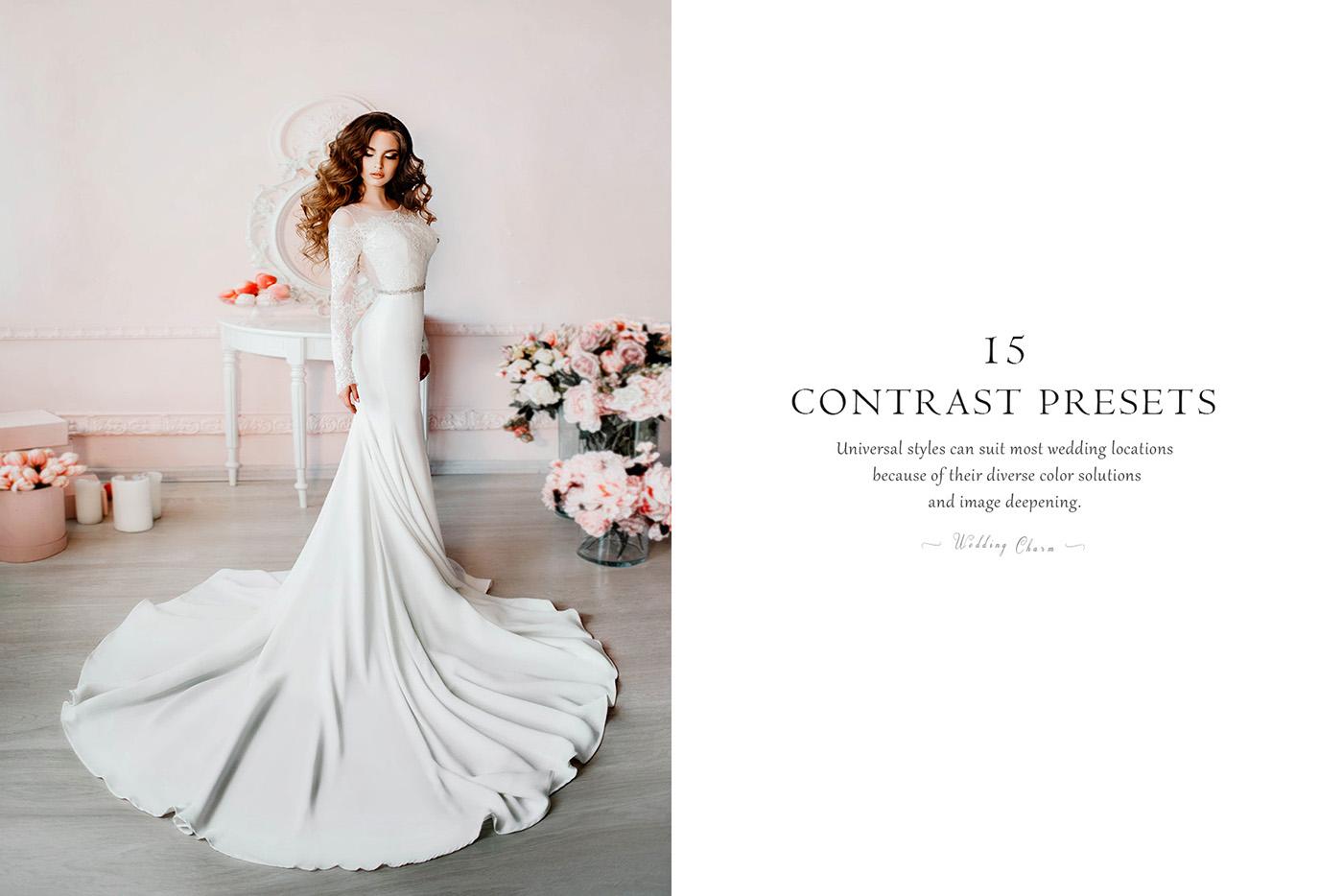 lightroom wedding presets common info table Contrast Presets