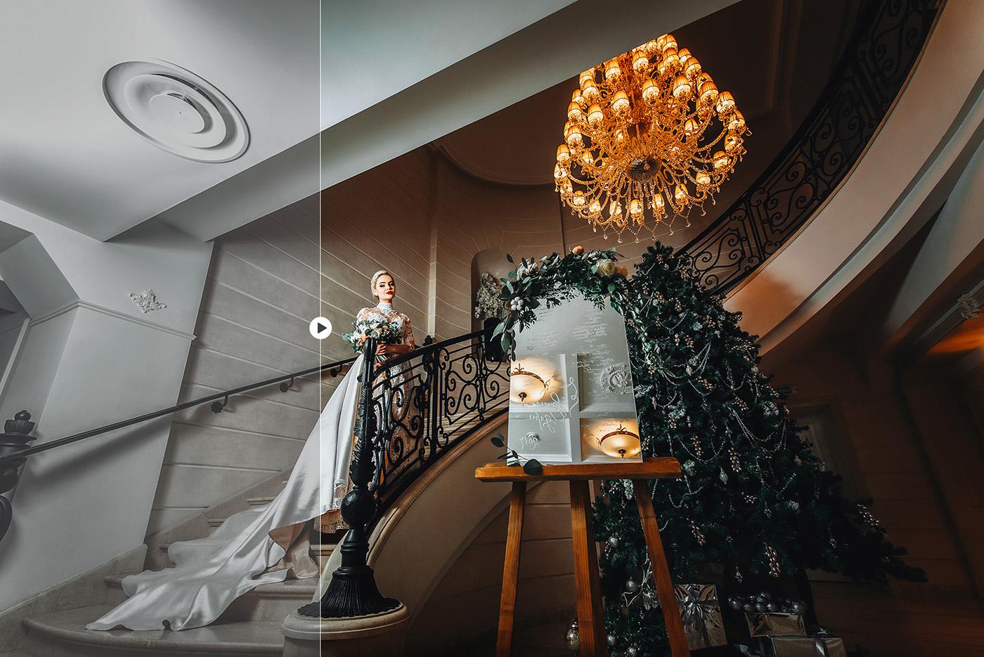 lightroom wedding presets common info table Contast