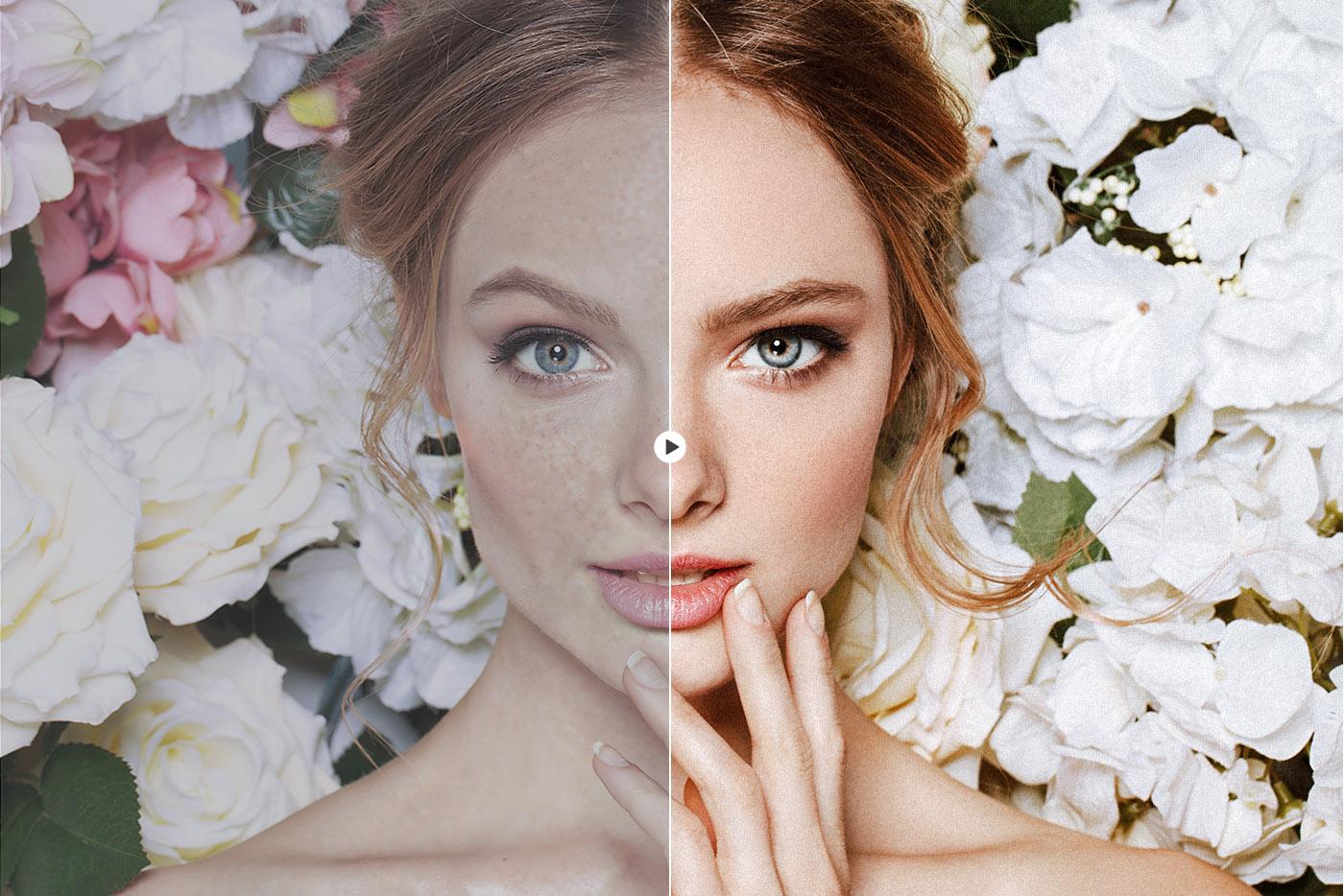 lightroom wedding presets face