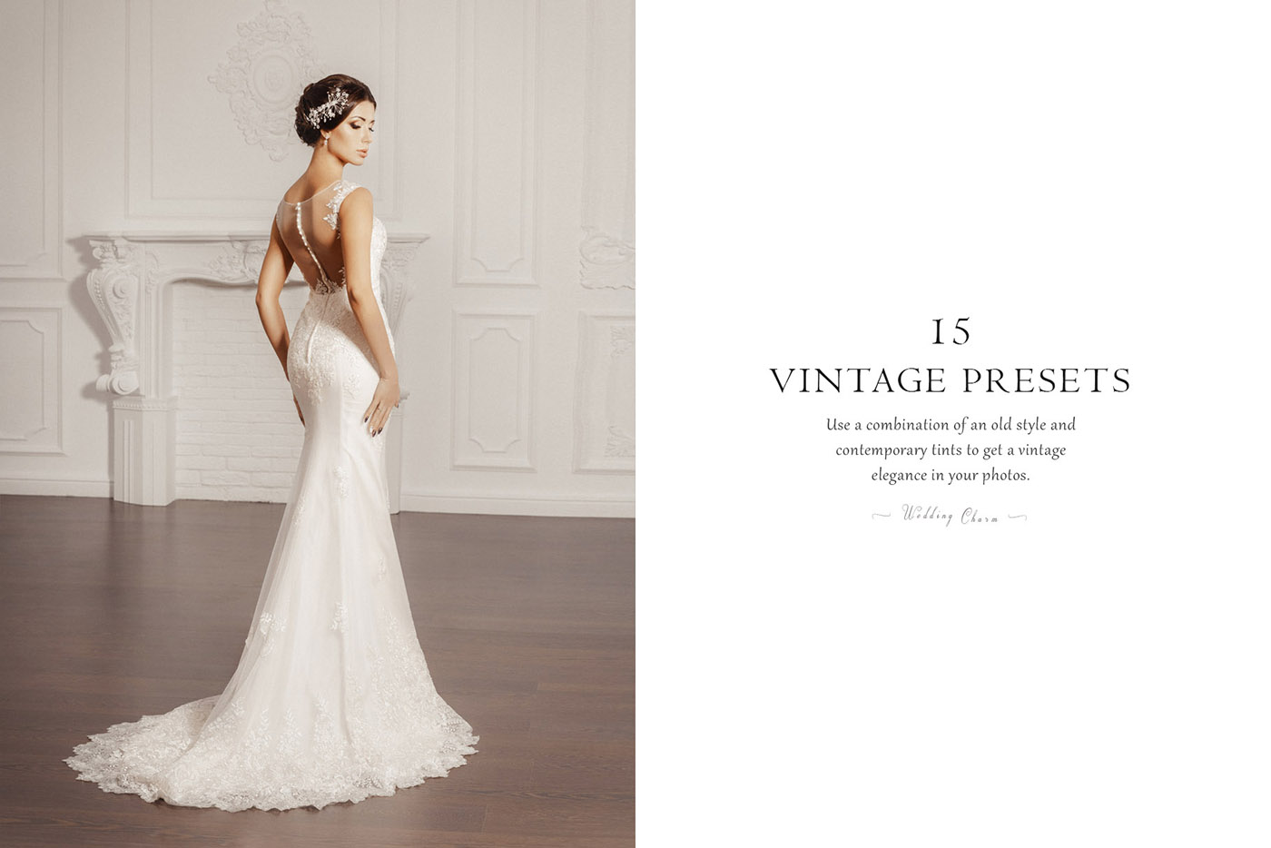 lightroom wedding presets common info tableVINTAGE 2