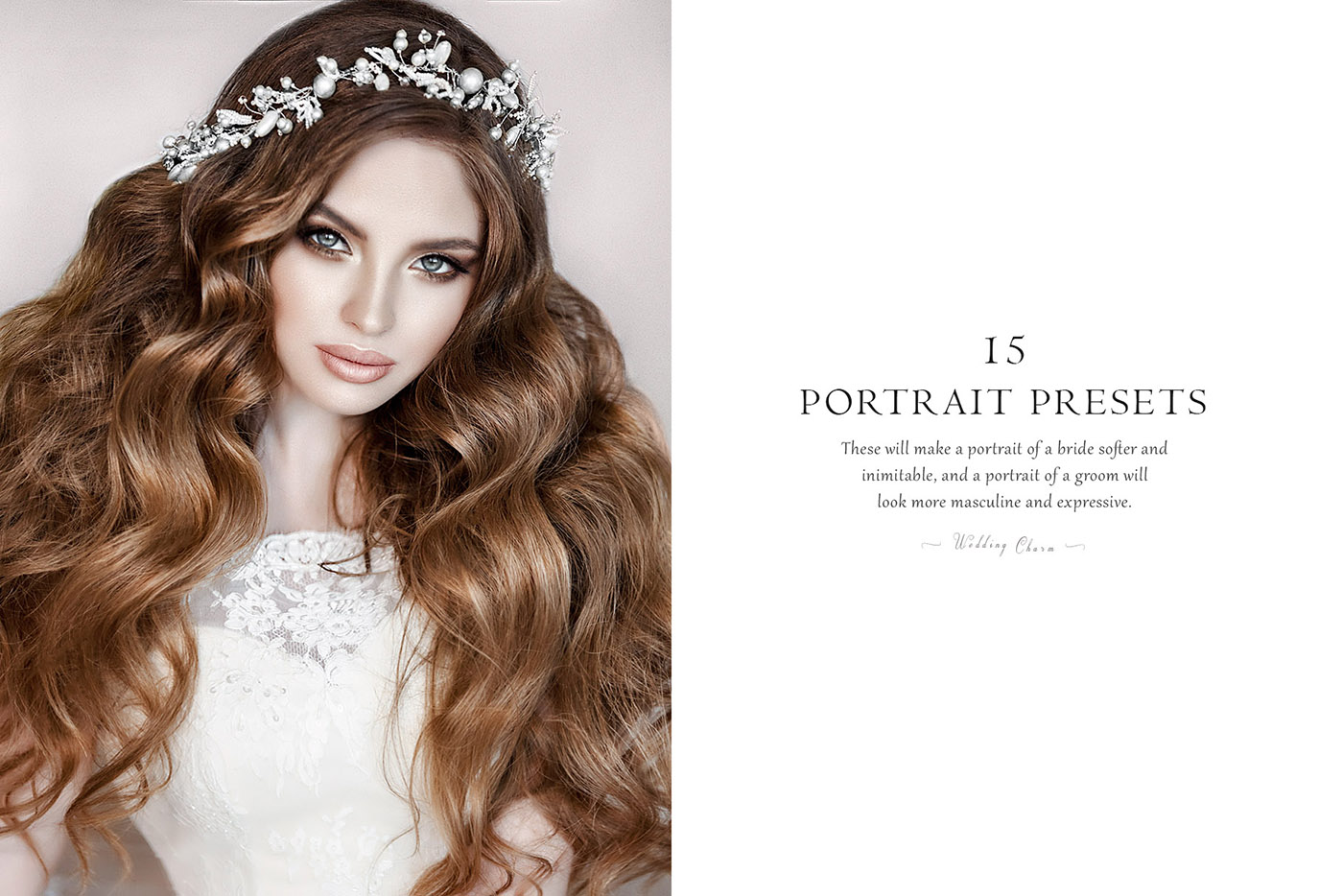 lightroom wedding presets common info tablePORTRAIT 2