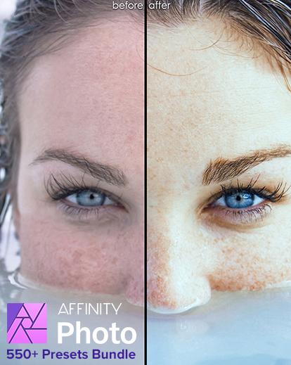 affinity presets banner