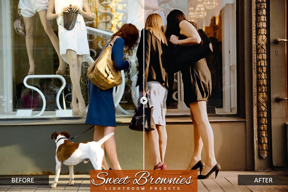 lightroom mobile presets Sweet Bownie