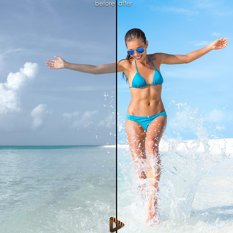 affinity presets beach
